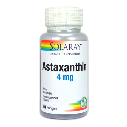 Solaray Astaxanthin Softgel (Btl-Plastic) 4mg 60ct