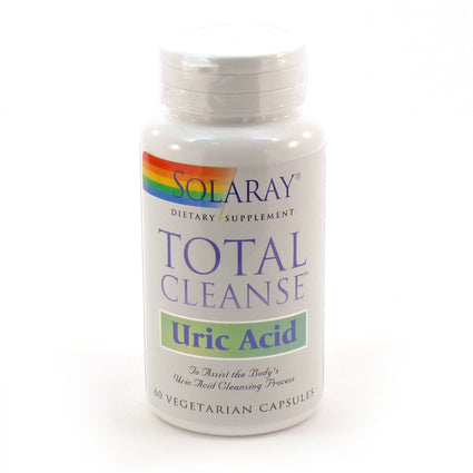 Total Cleanse Uric Acid By Solaray - 60 Veg Capsules