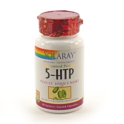 5HTP 100 mg By Solaray - 30  Capsules