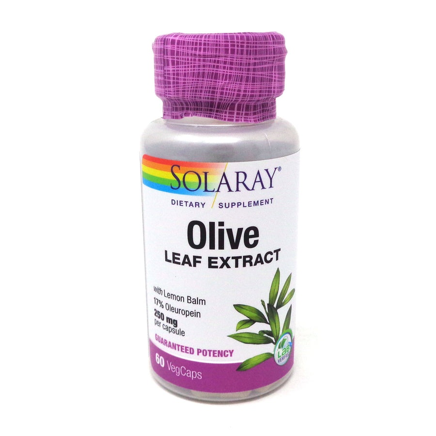 Olive Leaf Extract by Solaray - 60 Capsules