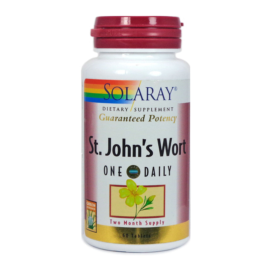 One Daily St. John's Wort 900 mg By Solaray - 60  Tablets