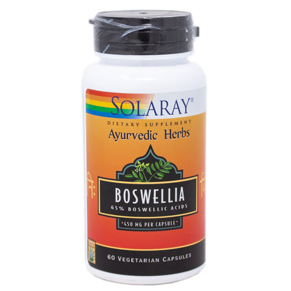 Boswellia Resin Extract 450 mg By Solaray - 60  Capsules