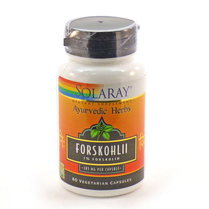 Forskohlii Root Extract 385 mg By Solaray - 60  Capsules