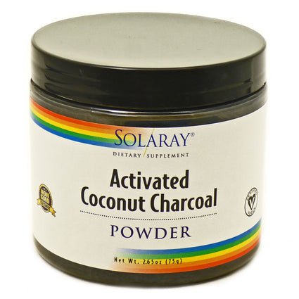 Activated Coconut Charcoal  by Solaray - 2.65 Ounces