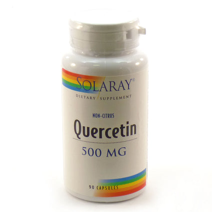 Quercetin 500mg 500 mg By Solaray - 90  Capsules