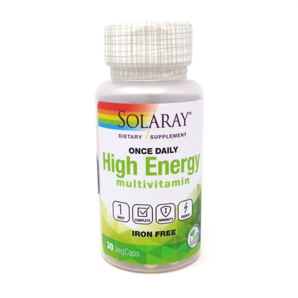 Once Daily Iron Free By Solaray - 30  Capsules