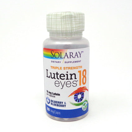 Lutein Eyes by Solaray - 60 Capsules