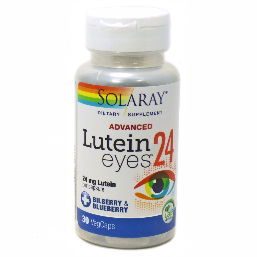 Lutein Eyes Advanced 24 mg By Solaray - 30  Capsules
