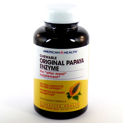 Original Papaya Enzyme by American Health 250 Tablets