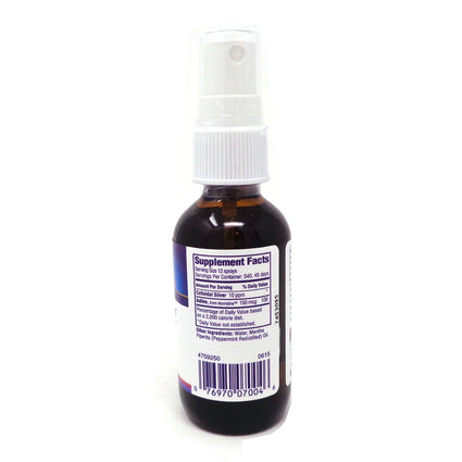 Heritage Store Colloidal Silver with Atomidine Spray Peppermint (Btl-Glass) 2oz