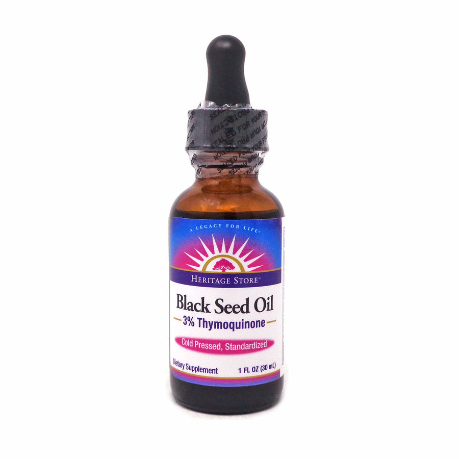 Heritage Store Heritage Store Black Seed Oil - 1 Fluid Ounce