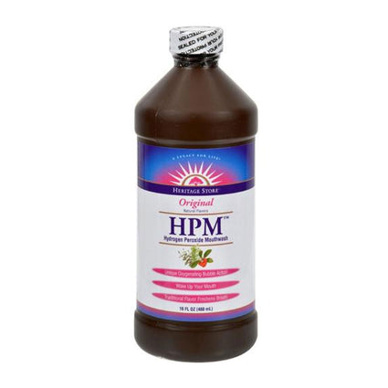 Heritage Heritage Store Hydrogen Peroxide Mouthwash - 16 Ounces