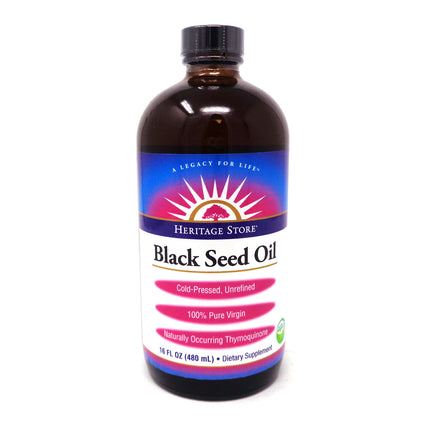 Black Seed Oil By Heritage Store - 16 Ounces