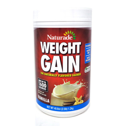 Naturade Weight Gain Vanilla Flavor -  40.6 Ounces
