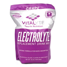 Vitalyte Electrolyte Replacment Grape Drink Mix  35 Ounces