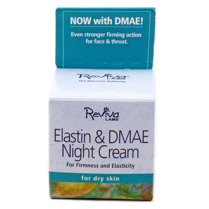 Elastin and DMAE Night Cream By Reviva - 1.5 Ounces