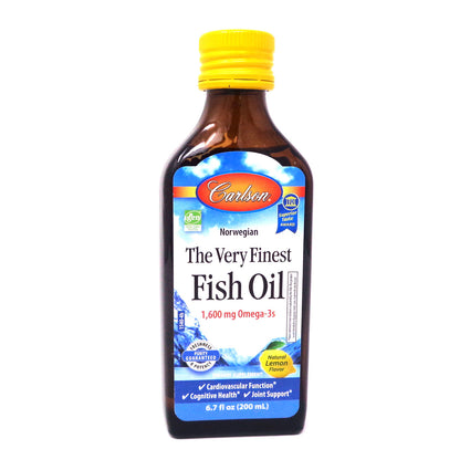 Carlson The Very Finest Fish Oil - Lemon  200 ml