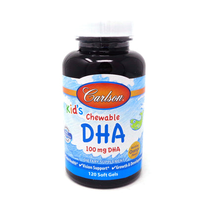 Carlson for Kids Chewable DHA - 120 Softgels