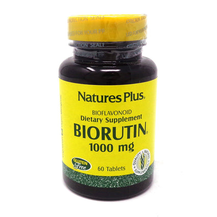 Biorutin 1000 mg by Nature's Plus - 60 Tablets