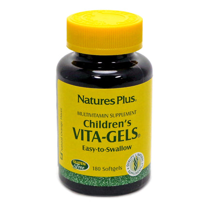 Children's Vita-Gels By Nature's Plus - 180 Softgels