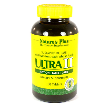 Ultra 2 Sustained Release by Nature's Plus 180 Tablets