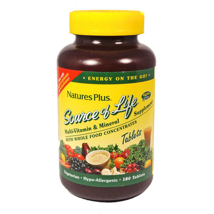 Source Of Life By Nature's Plus - 180 Tablets