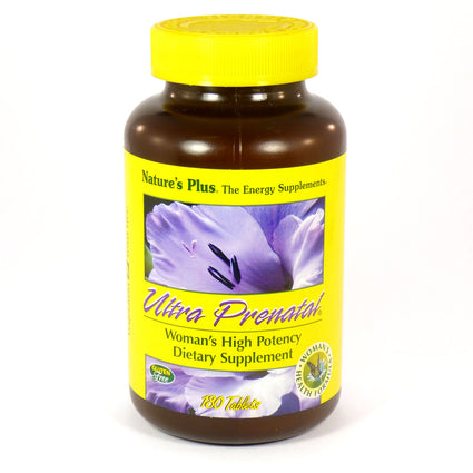Ultra Prenatal by Nature's Plus - 180 Tablets