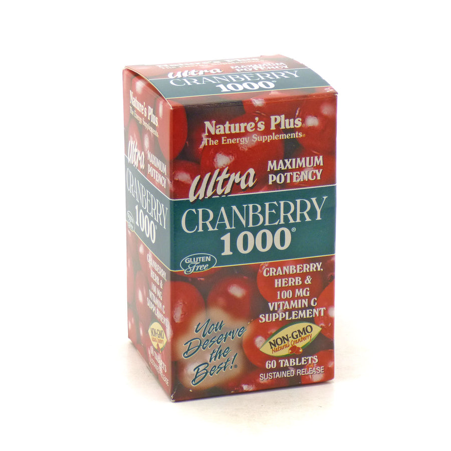 Ultra Cranberry 1000 Sustained Release by Nature's Plus 60 Tablets