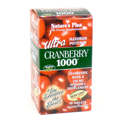 Ultra Cranberry 1000 By Nature's Plus - 90 Tablets