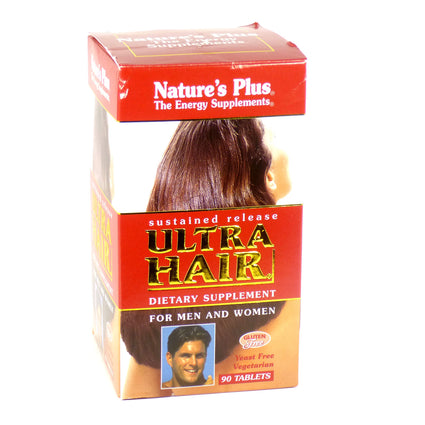 Ultra Hair Sustained Release by Nature's Plus 90 Tablets