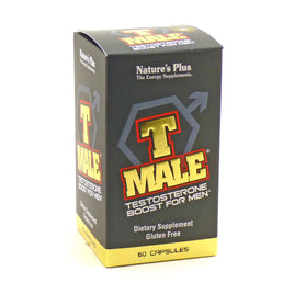 T Male For Men By Nature's Plus - 60 Capsules