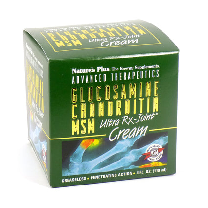 Glucosamin/Chondroitin/MSM Ultra Rx-Joint Cream by Nature's Plus 4 Fluid Ounces