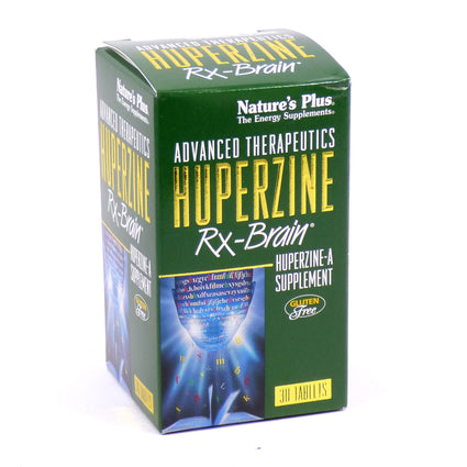 Huperzine Rx Brain by Nature's Plus 30 Tablets