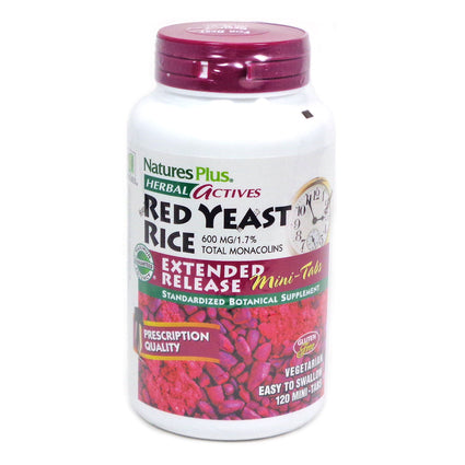 Red Yeast Rice Extended Release By Nature's Plus - 120 Mini Tabs