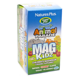 Animal Parade Mag Kidz Cherry Flavor By Nature's Plus - 90 Chewables
