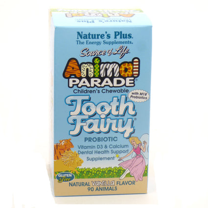 Animal Parade Tooth Fairy by Nature's Plus - 90 Animals