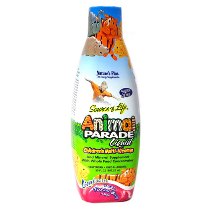 Animal Parade Liquid Multimitamin For Children By Nature's Plus - 60 Servings