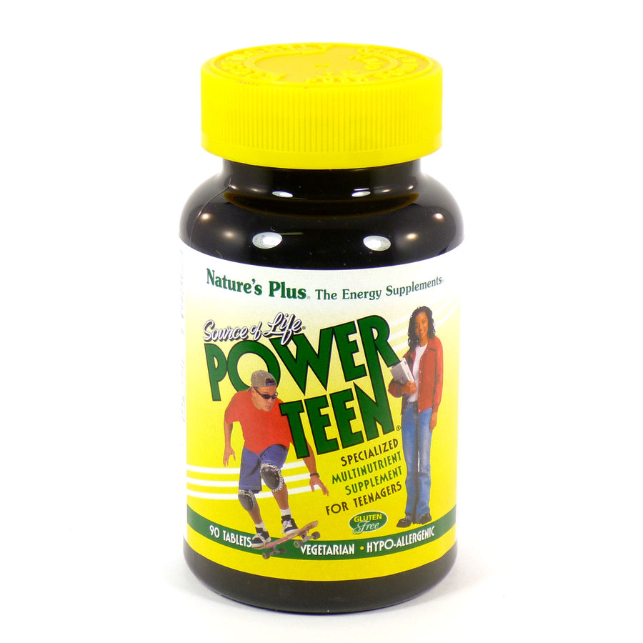 Source Of Life Power Teen By Nature's Plus - 90 Tablets