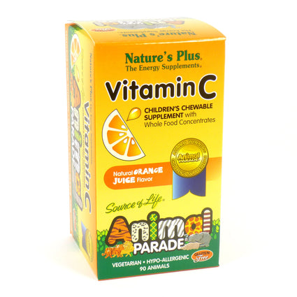 Animal Parade Vitamin C By Nature's Plus - 90 Animals