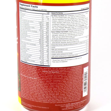 Source of Life Red Liquid Multimitamin & Mineral by Nature's Plus - 30 Ounces