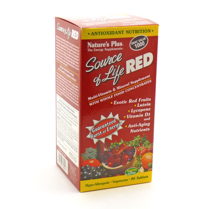 Source of Life Red by Nature's Plus - 90 Tablets