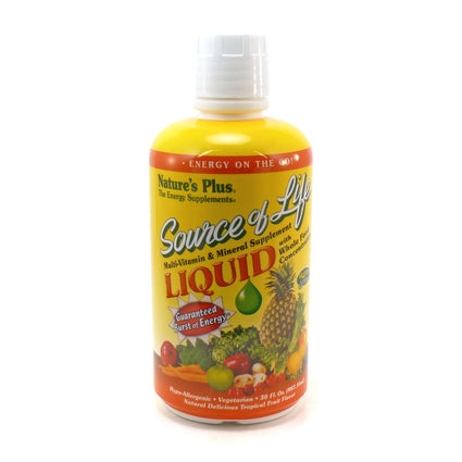 Source of Life Liquid by Nature's Plus 30 Fluid Ounces