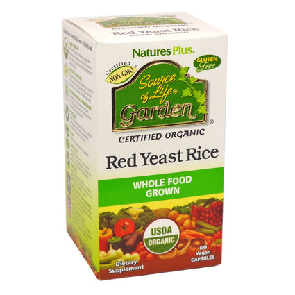 Nature's Plus Source Of Life Garden Red Yeast Rice 60 Capsules