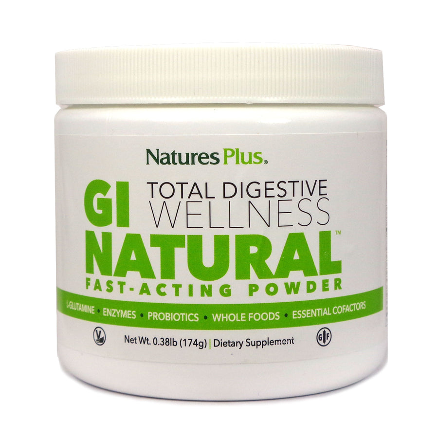 Nature's Plus GI Natural Fast Acting Powder Drink Mix - 30 Servings