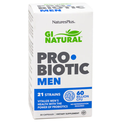 Natures Plus Probiotic Men - 30 Capsules