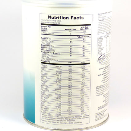 Simply Natural SPIRU-TEIN Shake by Nature's Plus 1.63 Pounds SPIRUTEIN
