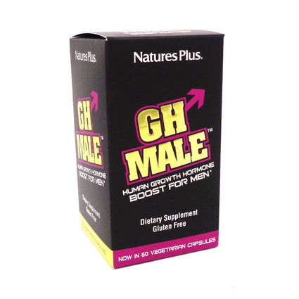 GH Male For Men By Nature's Plus - 60 Capsules