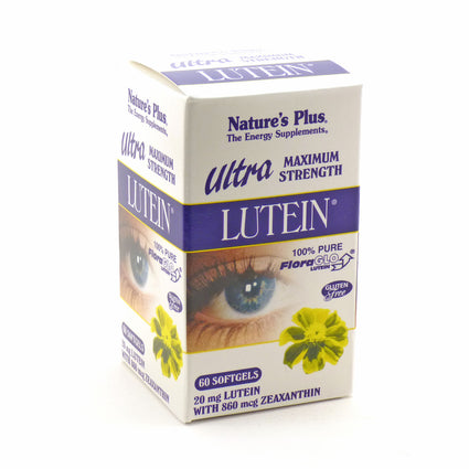 Ultra Floraglo Lutein 20 mg By Nature's Plus - 60 Softgels