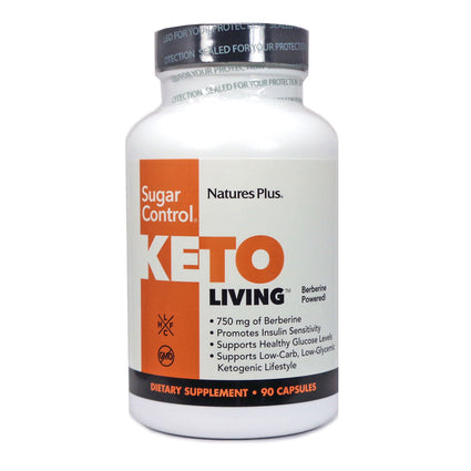 Nature's Plus Keto Living Sugar Control - 90 Capsules