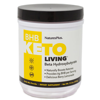 Natures Plus BHB Keto - 7.4 Ounces
